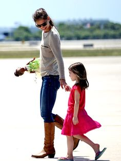 always been a fan of Katie Holmes, and she and her daughter seem to have a great mother to daughter relationship