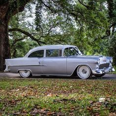 1955 Chevy Maintenance of old vehicles: the material for new cogs/casters/gears/pads could be cast polyamide which I (Cast polyamide) can produce 1955 Chevy, 1955 Chevrolet, Rat Rods, Classic Hot Rod, Classic Cars, Detroit Steel Wheels, Car Pictures, Photos, Vintage Cars