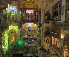 Sami Angawi designed his own solar punk home in Jeddah, Saudi Arabia.