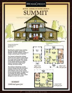 Luxury Log Homes Barn Homes Floor Plans, Barn House Plans, Dream House Plans, Cabin Plans, House Floor Plans, Tiny House Cabin, Cabin Homes, Log Homes, Small Log Home Plans