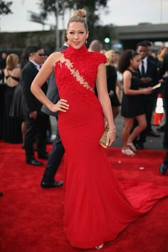#GRAMMYs #STYLAMERICAN - Colbie Caillat - Grammy Awards 2014