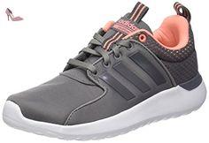 adidas Cloudfoam Lite Racer, Chaussures de Running Entrainement Femme, Gris (Grey Three/Grey Three/Sun Glow), 39 1/3 EU - Chaussures adidas (*Partner-Link)
