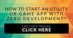 Most people think you need to have programming skill to start an app business...  The truth is, you DO NOT need any programming knowledge or experience at all.   It's about KNOWING how to build the app business.. :)