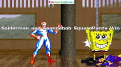 Spider-Man And SpongeBob SquarePants VS Psylocke And Ms. Marvel In A MUGEN Match / Battle / Fight This video showcases Gameplay of Ms. Marvel The Superheroine And Psylocke The Superheroine VS Spider-Man The Superhero And SpongeBob SquarePants In A MUGEN Match / Battle / Fight