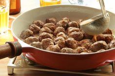Swedish meatballs can be served as an appetizer, as part of a smorgasbord, or as a main dish. Game plan: It's best to use a stand mixer fitted with a paddle attachment to combine the meatball ingredients. If you don't have a stand mixer, simply mix the ingredients in a large bowl with your hands, making sure to use a light touch.