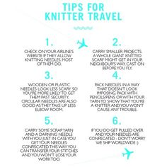 Off on holiday? Before you go here are some knitters tips for your flight. ✈️ #woolandthegang #travel #summer