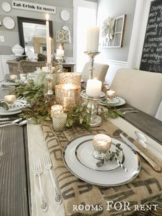 ~rooms FOR rent~: Mercury Glass Thanksgiving Tablescape {Grand Finale} one of my favorite bloggers