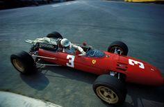 Mike Parkes al GP Belgio 1967
