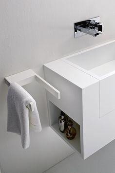 Towel rack Towel rack - @rexadesign #white