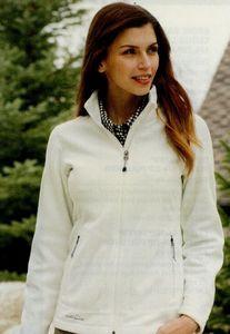 Eddie Bauer Ladies' Wind Resistant Full-zip Fleece Jacket