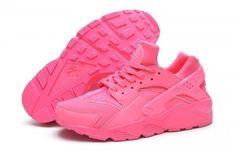 new style b9022 a065b Nike Air Huarache Tout Rose Femme Pas Cher Basket Mode, Magasin, Soulier,  Femme