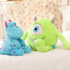 Disney Monsters Inc Little Mikey Boo Teddy Plush Soft Toy