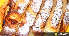 Bécsi tejben sült rétes recept képpel. Hozzávalók és az elkészítés részletes leírása. A bécsi tejben sült rétes elkészítési ideje: 70 perc French Toast, Breakfast, Desserts, Oreos, Food, Morning Coffee, Tailgate Desserts, Deserts, Essen