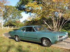 IN THE PARK WITH OUR 1966 PONTIAC LEMANS OHC SPRINT 6