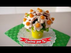 Bouquet di Tramezzini (Tutorial) - Antipasti creativi - YouTube