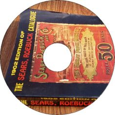 Sears Department Store 1902 Old Out of print Catalog Book Vintage Hardware CD