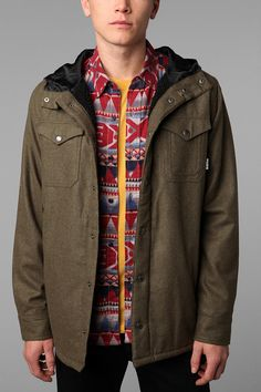 Burton Nelson Shirt Jacket  UrbanOutfitters Urban Outfitters Men 961acf15a2