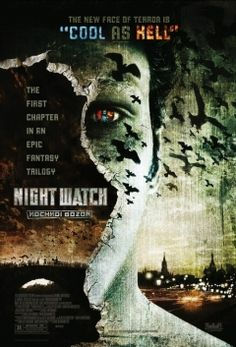 One of the coolest vampire trilogy of 2. Russian. (1/2.) - A fantasy-thriller set in present-day Moscow where the respective forces that control daytime and night time do battle. Day watch