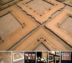 Laser-Cut Wood | Laser cut wood frames -notcot | Craft