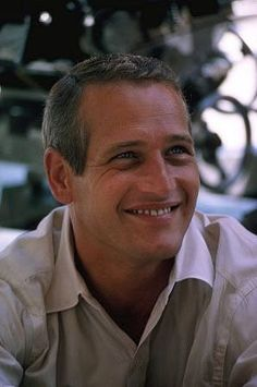 Paul Newman, great smile!
