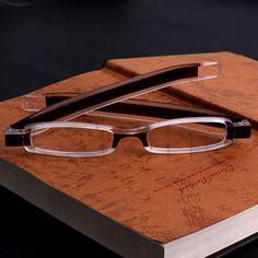 Soportar 360 Grados de Rotación Plegable Gafas de Lectura gafas Dioptrías Chic