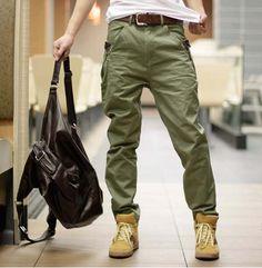 Meily Hombre - Casual Pantalon Jean Hj053 Diseño Exclusivo