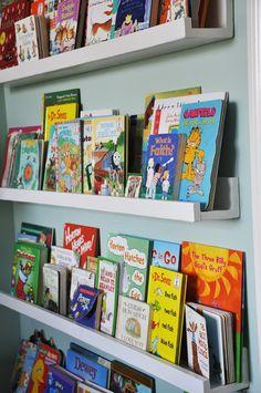 Made. Linear Book Shelves