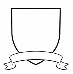 Blank Family Crest Template Cliparts Church Camp Ideas