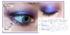 Look using Omen eyeshadow by @Ashley Urban Decay