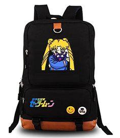 Amazing offer on YOYOSHome Anime Sailor Moon Cosplay Bookbag Daypack Laptop Backpack  School Bag online 8c7d570ee7e75