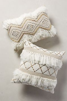 Moroccan Wedding Pillow #anthropologie