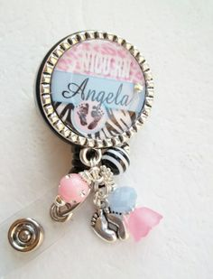 Adorable NICU RN Pediatrics Badge Reel Personalize with name and your credentials. Only $15.75 plus FREE SHIPPING
