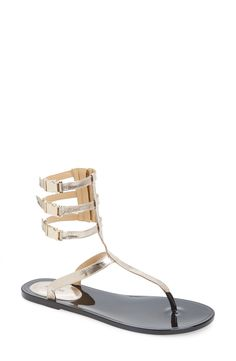 Rachel Zoe 'Cecille' Leather Ankle Strap Sandal