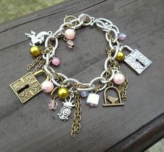 "Náramok ""Rozprávka""/ Bracelet ""Fairy Tale"" Best Makeup Products, Fairy Tales, Handmade Jewelry, Charmed, Bracelets, Fashion, Moda, Handmade Jewellery, Fashion Styles"