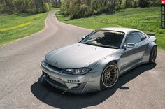 2000 s15 nissan silvia rocket bunny over fenders