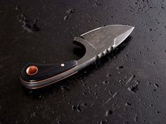 Great looking neck knife!