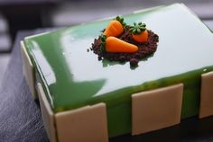 Isn't this the cutest carrot cake? #sweet #food