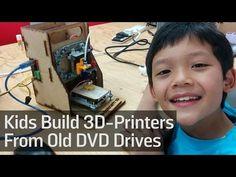 These Kids Build 3D-Printers From Old DVD Drives - Vocativ tutaj mozna do nich napisać: https://www.facebook.com/groups/3dpahk/