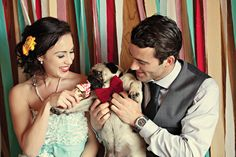 A Vintage Great British Seaside Shoot Pug Wedding, Wedding Shoot, Dream Wedding, Wedding Dresses, Men Are Men, British Seaside, Family Presents, Pug Pictures, Seaside Style