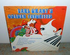 Vintage Vinyl Album Earl Grant's Golden Favorites by TheBackShak, $10.00