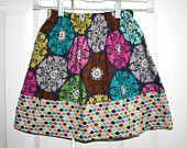 Ziggy Tails on Etsy Size 6-7 Girl & matching Doll skirts