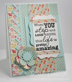 Stop and Look Around MFTWSC87 by TreasureOiler - Cards and Paper Crafts at Splitcoaststampers