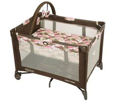 Pink camo pack 'n play!  http://www.squidoo.com/camo-baby-stuff Graco Pack N Play Playard, Camo Jane #ppgcamobaby