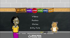 #Bullying videos, stories, and activities for kids!