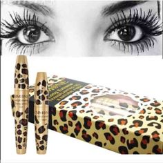 2 pks 3D waterproof fiber lash mascara black new You will receive 3 packages of this amazing mascara                                                              3D waterproof fiber lash mascara Each pack Comes in a two pack 1 gel and one fibers this is a 2 step application.   Brand new original package Makeup Mascara