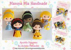 Apostila Princesas | por Mamma Mia Handmade