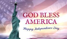 Send this FREE God Bless America eCard to a friend or family member!  Send free Independence Day ecards to your friends and family quickly and easily on CrossCards.com. Share an animated Independence Day eCard or a cute and funny ecard with your family and friends, it's easy!  Find that perfect Independence Day card, add a personalized message, then press send!  That's all it takes to brighten the day of a friend with a FREE eCard!  CrossCards.com – Free Christian inspired online greeting…