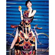 Kiko Mizuhara Charms in Gucci for Ellen von Unwerth in Vogue Japan ❤ liked on Polyvore featuring kiko mizuhara and photos