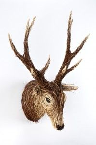 Bob Johnstons Willow Stag Sculpture