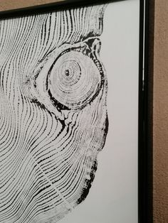 Tree Print, Guardians Of The Galaxy, Stuff To Do, Things To Sell, Wood Print, A4, My Etsy Shop, Handmade Items, Eyes